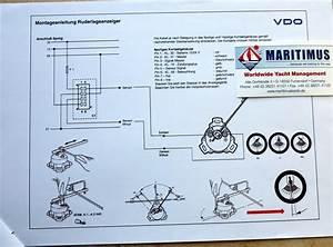 Vdo Rudder Gauge Wiring Diagram