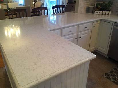 Kitchen Countertops Quartz Minuet Viatera Cabinets Backsplash