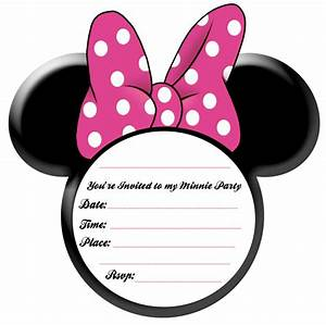 Minnie Mouse Bow Template - Cliparts.co