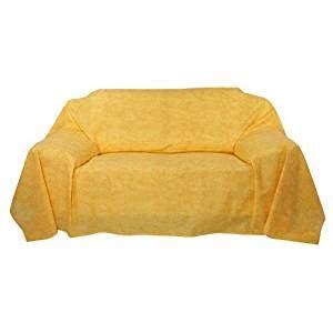 drap canapé drap jeté de canapé plaid fin couvre lit 210x280cm