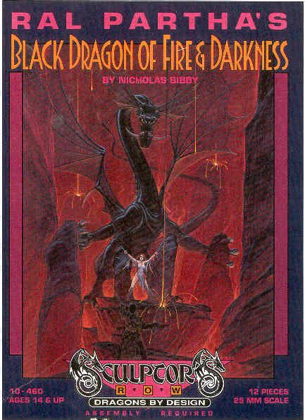 ral partha boxed sets sculptors row dragons  design
