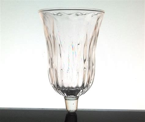 homco home interiors home interiors peg votive candle holder clear