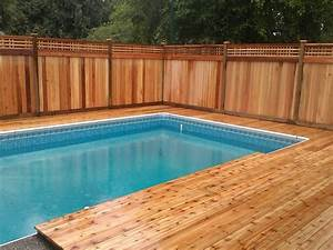 Pool Rechteckig Stahl : poolumrandung holz sichtschutz naturholz rechteckig garten schwimmbecken pool garten pool ~ Frokenaadalensverden.com Haus und Dekorationen