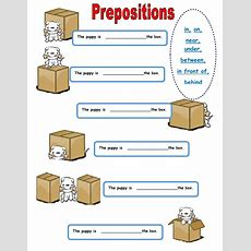 Where Is The Puppy?  Interactive Worksheet