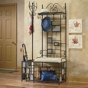 Meuble En Fer : meuble chaussures fer forge ~ Melissatoandfro.com Idées de Décoration