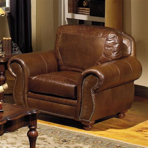 Furniture Dealers by Traditional Leather Furniture Sagle Classic Saddle