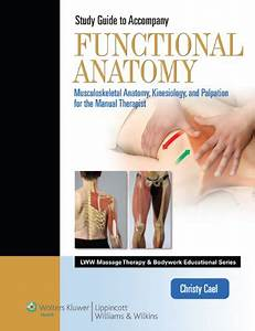 9781609136857  Student Workbook For Functional Anatomy