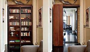 Secret Passage in Your Home - Woodfold Bookcase Doors