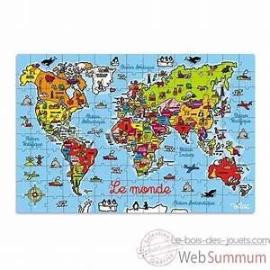 Carte Du Monde Bois : achat de monde sur le bois des jouets ~ Nature-et-papiers.com Idées de Décoration