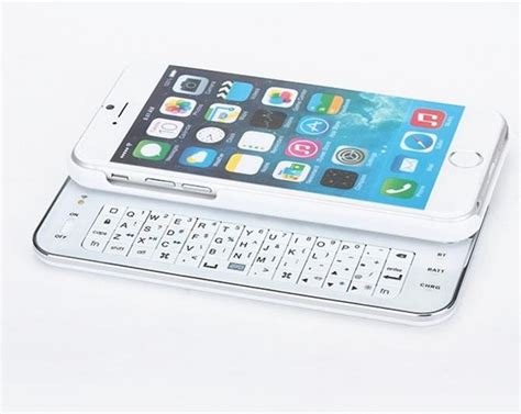 Bluetooth Keyboard Thin Hard Plastic Slide Out Cover 4