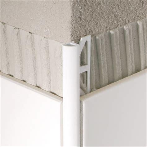 96 quot x 1 quot corner piece tile trim in pvc aluminum wayfair