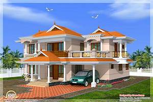 Kerala model home in 2700 sq feet House Design Plans