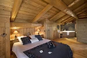 Decoration cuisine chalet montagne chalet so phil for Interieur chalet bois montagne