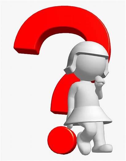Question Mark 3d Money Clip Clipart Graphic