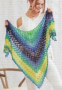 Tahitian Nights Shawl Wrap Women U0026 39 S Crochet Pattern