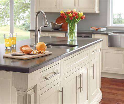 painted white oak kitchen cabinets chantille white cabinet color on oak decora 7317