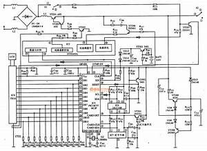 pic16c57 rc p communication single chip microcomputer With circuit diagram a