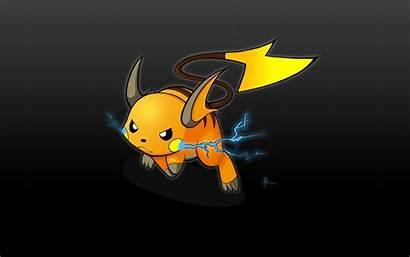 Pokemon Raichu Wallpapers Pikachu Pantalla Fondos Moving