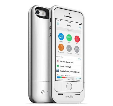 storage iphone mophie space pack for iphone couples external battery with