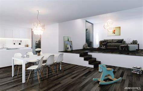 A Studio Loft Which Is A Home And Gallery by Black And White Studio Lofts Interior Design Ideas