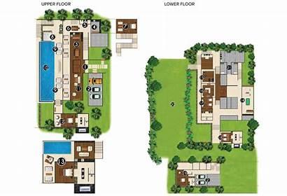 Villa Layout Plan Bedroom