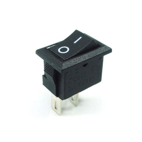 l on off switch 2x on off switch 12v dc black rocker 3 4 quot x 1 2 quot l x w