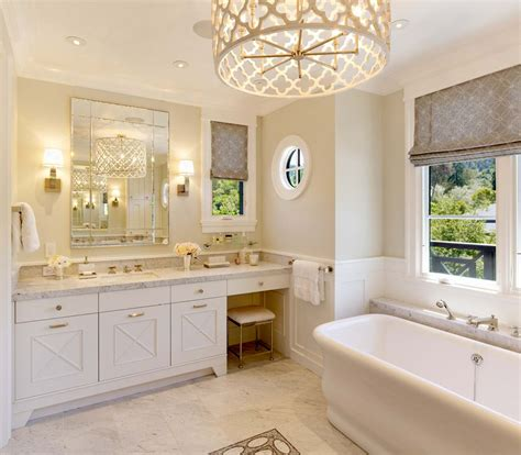 bathroom chandeliers ideas 8 simple tricks to an inexpensive bathroom makeover