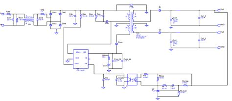 Power Supply Smps With Two Outputs Max