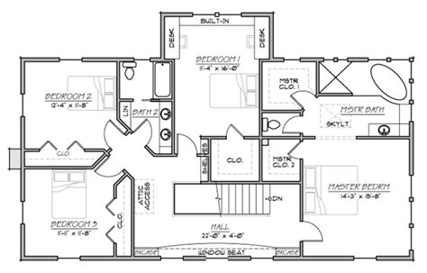 farmhouse style house plan 5 beds 3 baths 3006 sq ft