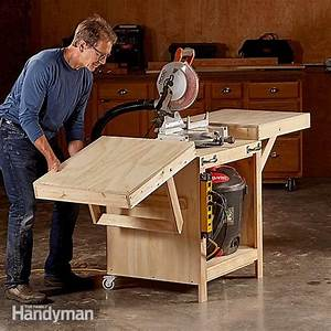 Convertible Miter Saw Station Plans The Family Handyman