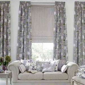 Home interior design and interior nuance modern living for Curtains ideas for living room