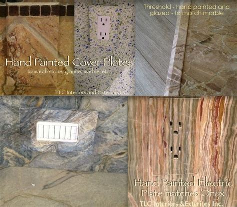 wood artistry restoration fort mill painted switch plates and electricity covers look