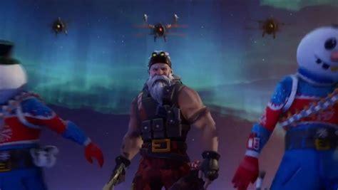 fortnite season  christmas trailer hints  crackshot