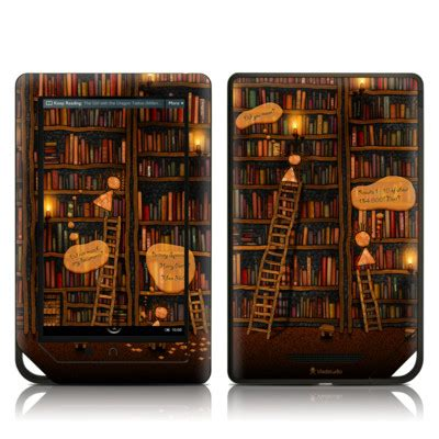 barnes and noble order status barnes and noble nook tablet skin library by vlad studio
