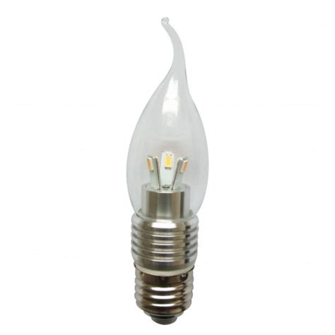 6 pack dimmable e27 5w led e27 base candle bulb light
