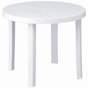 Table Ronde Pas Cher : table ronde 90 cm achat vente table de jardin ronde pas ~ Melissatoandfro.com Idées de Décoration