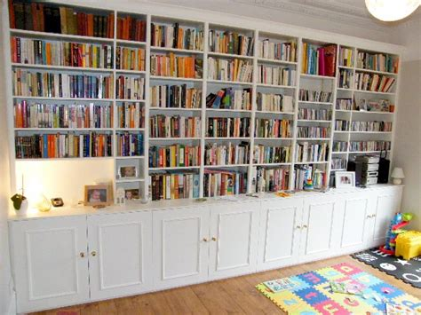 Wall Bookcases by Shelving Bookcases Brian White Carpentry