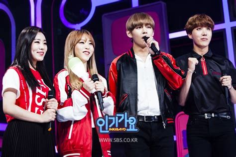 picture bts  hope   special mcs  sbs inkigayo