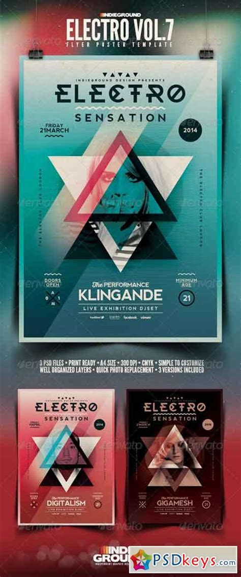 Electro Flyer Poster Template Vol 4 Torrent electro flyer poster vol 7 6969465 187 free download