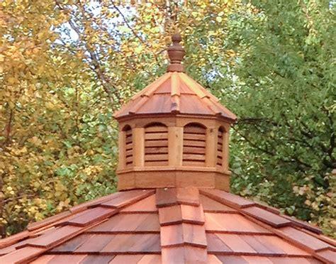 Red Cedar Octagon Cupola