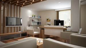 modern home office interior design decobizzcom With interior design for home office