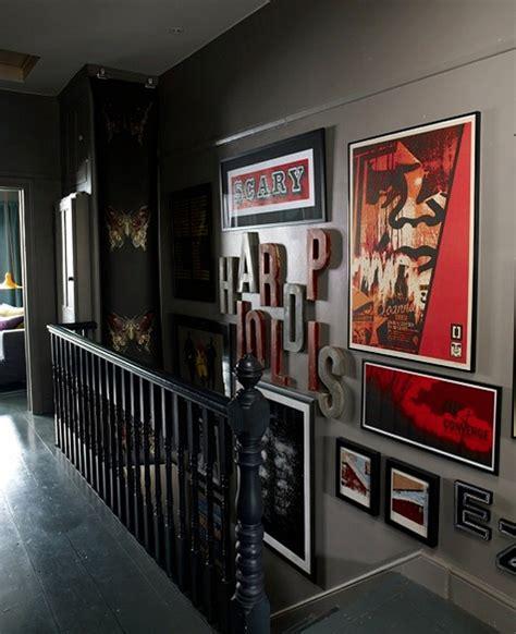 dark  moody apartment interior design  budget digsdigs