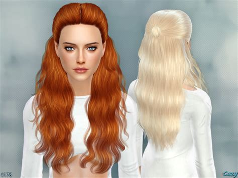 Update Hair Style 2019 : Hannah Female Hair By Cazy At Tsr » Sims 4 Updates