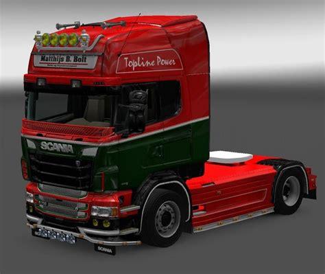 Skin Pack for Scania RJL (16 Skins)   ETS 2 mods - Euro ...