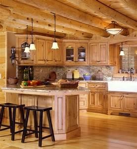 idees cuisine focus sur la cuisine chalet moderne With deco bois cuisine