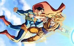 Goku Vs Superman Wallpapers - Wallpaper Cave