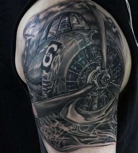 airplane tattoos  men tattoos  men pinterest