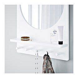 Ikea Spiegel Aufhängen by Saltr 214 D Spiegel Mit Ablage Und Haken Wei 223 Ikea