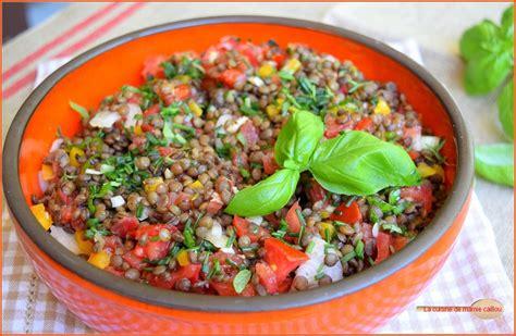 recette de cuisine weight watchers ma salade de lentilles pour faire le plein d 39 énergie la