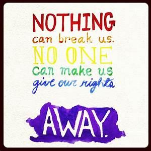 Newsies gay pride quote | My lesbian likes. :) | Pinterest ...